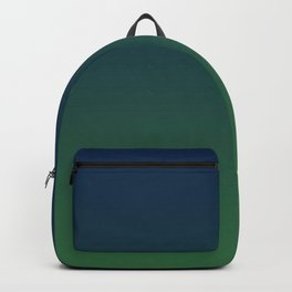 Blue-green Ombre Backpack