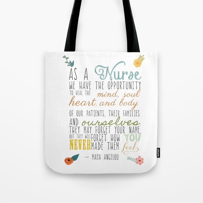 As A Nurse Tote Bag By Maybesparrowphotography Society6