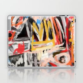 The king was there Laptop & iPad Skin