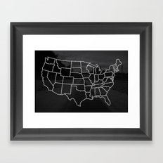 Ride Statewide - USA Framed Art Print