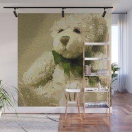Daddy's Gift Teddy Bear Print Wall Mural