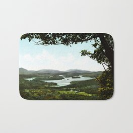 Lower Saranac Lake, Adirondack Mountains, New York, 1902 Bath Mat