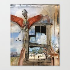 Post Mortem Canvas Print