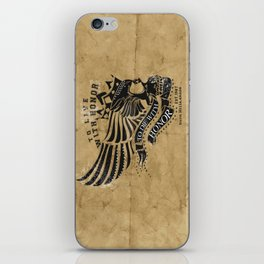 To Live and Die With Honor iPhone Skin