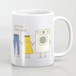 Let's go for a spin! Coffee Mug