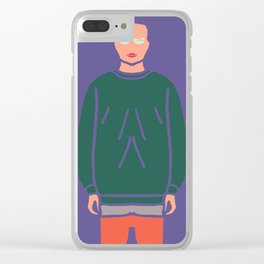 OOTD#2 : Outfit Of The Day Clear iPhone Case