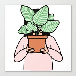Plant Collector Canvas Print