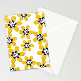 Flower yellow Stationery Cards
