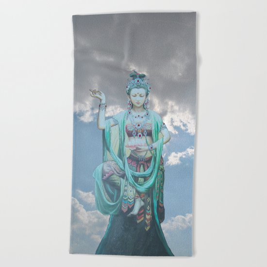 Compassion Beach Towel