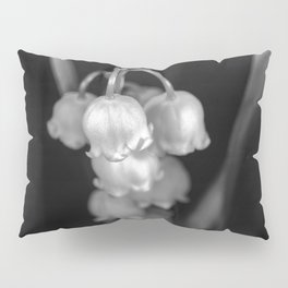 Black and white lily of the valley Pillow Sham
