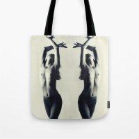 dancer Tote Bags featuring Dancer by Falko Follert Art-FF77