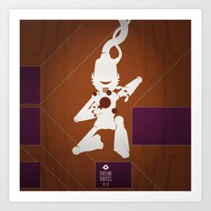 CHAM.AN.DROID Art Print