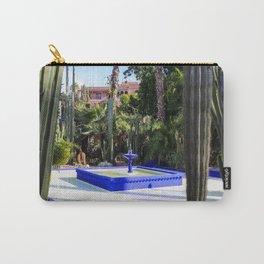 Majorelle Garden, Marrakech Morocco Carry-All Pouch