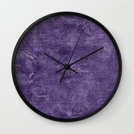 Imperial Palace Oil Painting Color Accent Wall Clock
