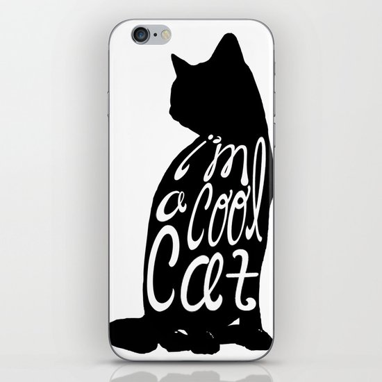 I'm A Cool Cat iPhone & iPod Skin