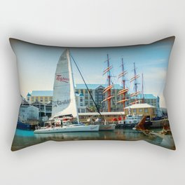 V & A Waterfront Cape Town Rectangular Pillow