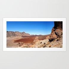Tenerife: Roques de García Art Print