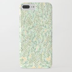 Green and Yellow Leaves Slim Case iPhone 7 Plus
