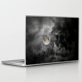 Black Night Laptop & iPad Skin