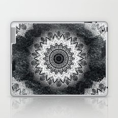MONOCHROME BOHOCHIC MANDALA Laptop & iPad Skin