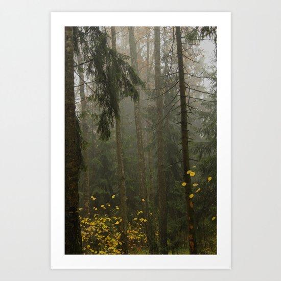 Forest#3 Art Print