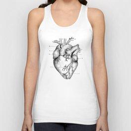 Anatomical Heart Unisex Tank Top