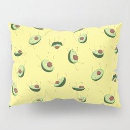 Avocados falling Pillow Sham