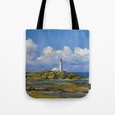 Turnberry Lighthouse Tote Bag