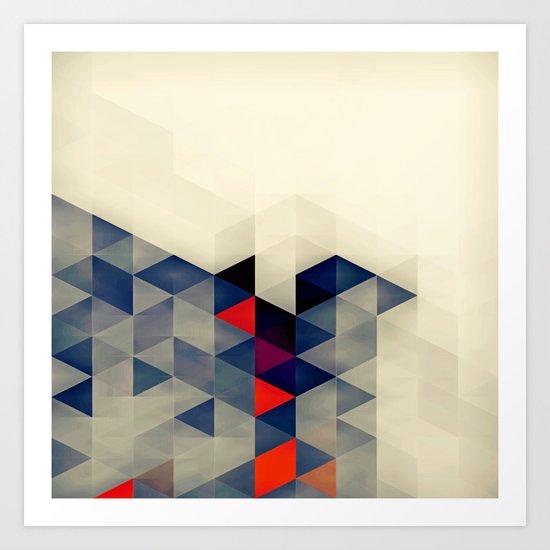 Geometric XQ Art Print