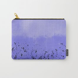 Abstract speckled background - purple Carry-All Pouch