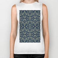 mosaic Biker Tanks featuring Mosaic by Simply Chic