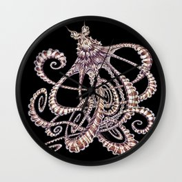 Mimic Octopus Wall Clock