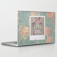 1989 Laptop & iPad Skins featuring The 1989 Era by Lucia C