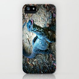 Lazy Lace Monitor iPhone Case