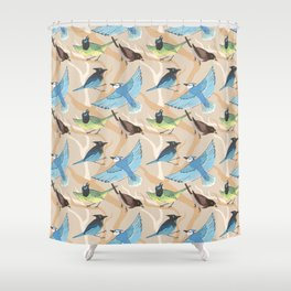 Jay Pattern Shower Curtain