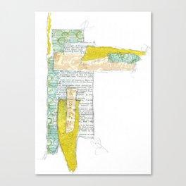Composition Study No.5 Canvas Print