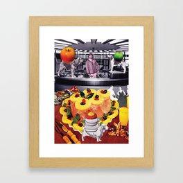 Bitchin' in the kitchen Framed Art Print
