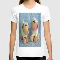 silence of the lambs T-shirts featuring Little Lambs by Frankie Cat