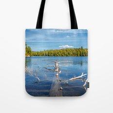 Smoke Lake Tote Bag