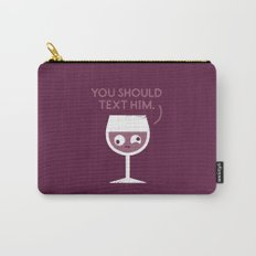 You Red My Mind Carry-All Pouch