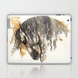 Andalusian horse Laptop & iPad Skin