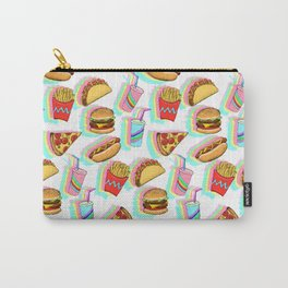 Rainbow Fast Food Carry-All Pouch