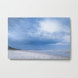 The Sky above the Channel Metal Print
