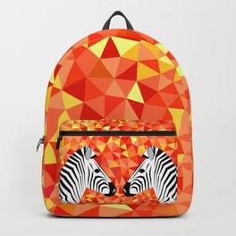 Zebras at Sunset Backpack