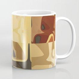 Mid Century Modern Pattern Geometric Art by Michel Keck Coffee Mug
