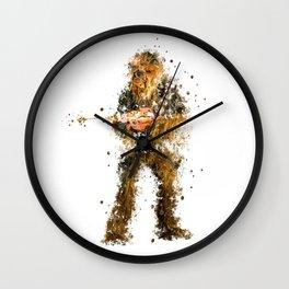 CHEWBACCA STAR . WARS Wall Clock