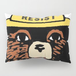 SMOKEY THE BEAR SAYS RESIST Pillow Sham