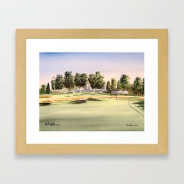 Oakmont Golf Course Framed Art Print