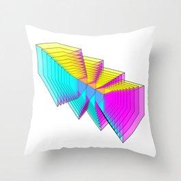 Cubes 4 Throw Pillow