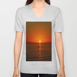 At The End Of The Day Unisex V-Neck